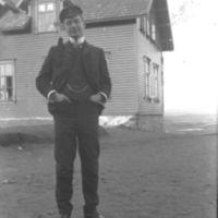 Mart. Birkeland, lærer ved Jæren Folkehøg-  skule. Lærer 1905-1915.